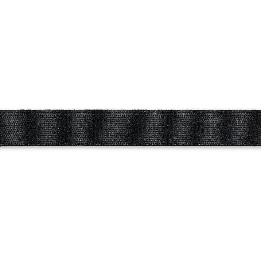 KRÄFTIG Elastic-Band 1m schwarz Gummi-Band 18mm PRYM 955181