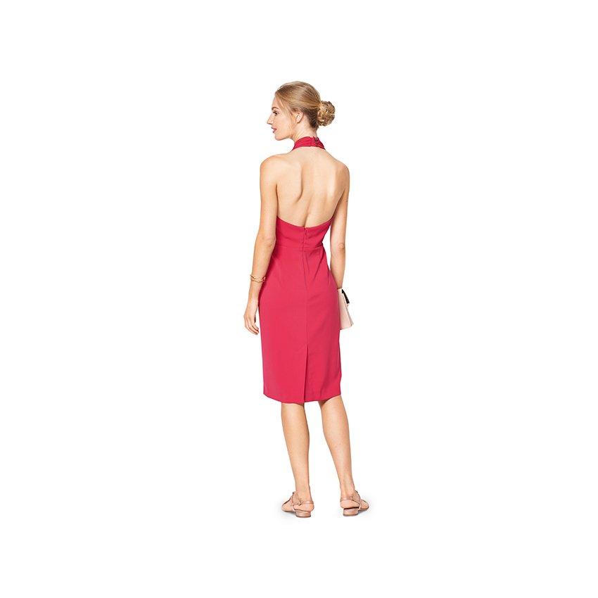 Neckholder-Kleid - Cocktailkleid, Burda 6421 | 34 - 44 | Stoffpalast