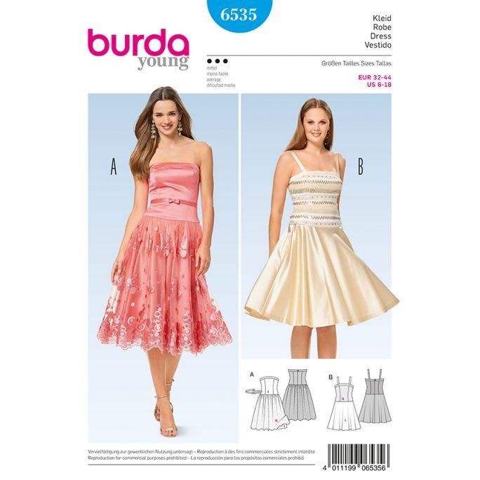 42ae9186ea2 Cocktail-Kleid Korsagen-Kleid Träger-Kleid