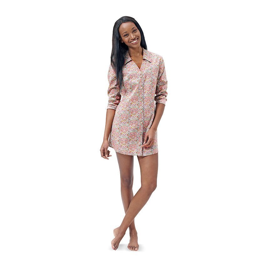 Pyjama - Nachthemd, Burda 6742 | 34 - 44 | Stoffpalast