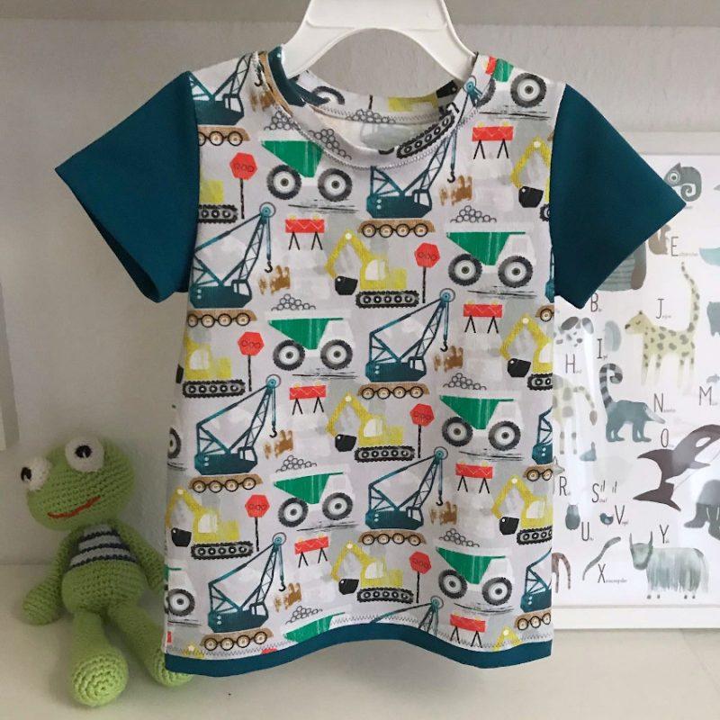 Nähbeispiel Kinder-Tshirt
