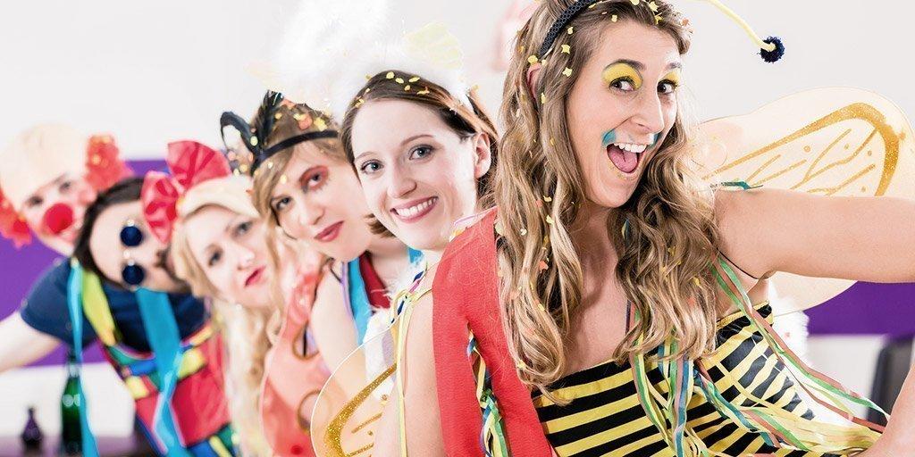 Alltagstaugliche Karnevalskostüme